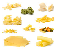 Pasta specialties royalty free stock photos