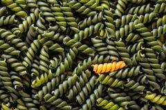 Pasta spirals. High quality pasta spirals texture stock image