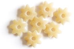 Pasta stars Royalty Free Stock Images