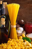 Pasta still life Royalty Free Stock Photography