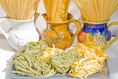 Pasta still life Royalty Free Stock Photos
