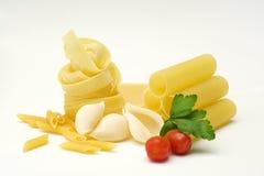 Pasta still-life stock image