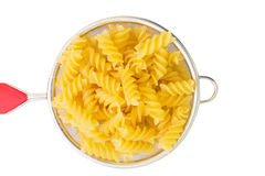 Pasta strainer, isolation, not ready Stock Photos