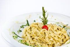 Pasta tagliatelle Royalty Free Stock Photos