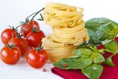 Pasta tagliatelle. Royalty Free Stock Photo