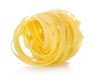 Pasta tagliatelle Stock Photos