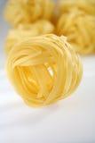 Pasta Tagliatelle Stock Images