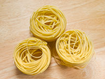 Pasta tagliatelle Royalty Free Stock Images