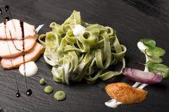 Pasta tagliatelle Royalty Free Stock Image