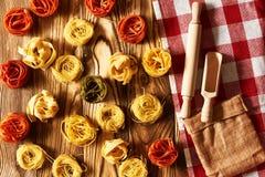 Pasta tagliatelle Royalty Free Stock Photo
