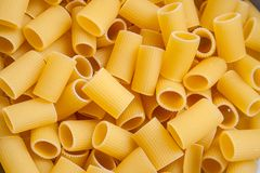 Pasta Texture, Background. Pasta is a staple food of traditional Italian cuisine Royalty Free Stock Image