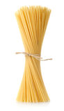Pasta tied up by a rope Stock Images