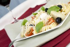 Pasta Time Stock Photography