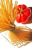 Pasta and tomato Royalty Free Stock Photography