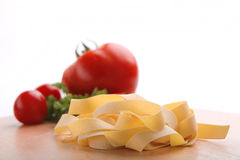 Pasta and tomato Royalty Free Stock Photos