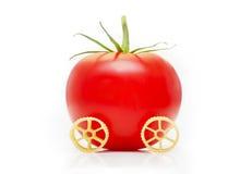 Pasta and tomato Stock Image