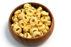 Pasta Tortellinis 02. Various pasta shapes, italian food Royalty Free Stock Images