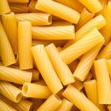 Pasta tortiglioni. Texture of Italian pasta tortiglioni Royalty Free Stock Image