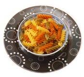 Pasta tricolore Royalty Free Stock Photos