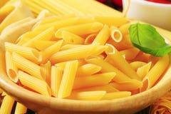 Pasta tubes Stock Image