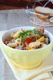 Pasta with tuna and tomatoes Royalty Free Stock Photo