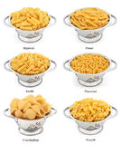 Pasta Types Stock Photos