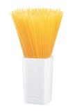 Pasta in un vaso Fotografia Stock