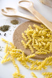 Pasta uncooked Royalty Free Stock Photos