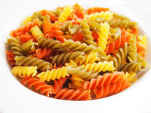 Pasta. Used to make a delicious dinner Royalty Free Stock Photography