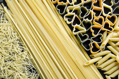 Pasta varied Royalty Free Stock Images