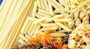 Pasta varied Stock Images