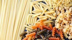 Pasta varied Stock Photography