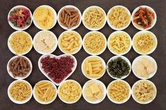 Pasta Varieties Royalty Free Stock Image