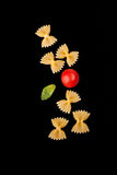 Pasta Varieties - Farfalle Stock Images