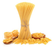 Pasta Varieties Stock Photos