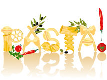 Free Pasta, Vector Stock Photo - 8415150