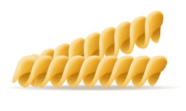 Pasta vector illustration Stock Photography