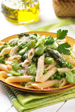 Pasta with vegetables Royalty Free Stock Photos