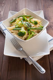 Pasta vegetariana Stock Photo