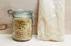Pasta and vermicelli Stock Photo