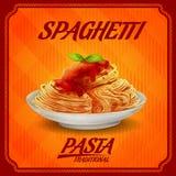 Pasta vintage traditional spaghetti Royalty Free Stock Photos