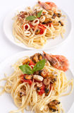 Pasta Vongole Seafood Royalty Free Stock Photography