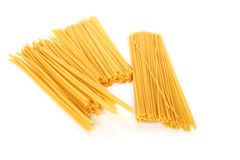 Pasta on white Stock Photography