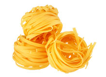 Pasta on white Stock Image