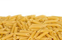 Pasta on White Background stock photos