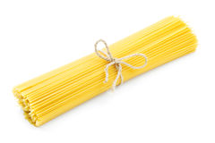 Pasta on white background Stock Photos