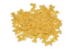 Pasta on a white background Stock Photo