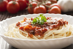 Free Pasta With Ingredients Stock Image - 18736291