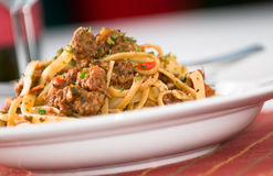 Free Pasta With Meat Sauce Royalty Free Stock Images - 10824919