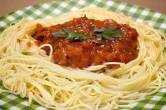 Free Pasta With Tomato Sauce Royalty Free Stock Photos - 26194668